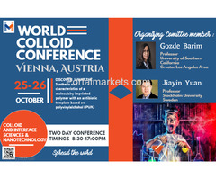 World Colloid Conference 2018