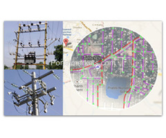GIS : Electrical Asset Mapping, Consumer Indexing & Web Solution Development