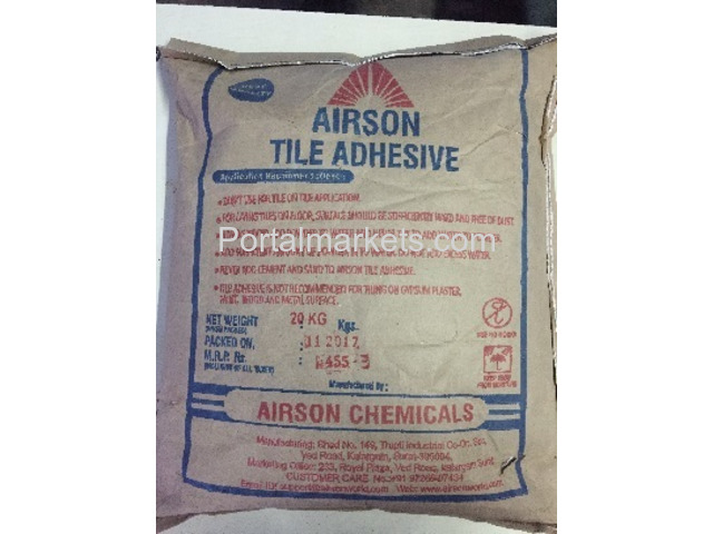 Tile Adhesive manufacturer in Surat - Airson Chemical - 1/1