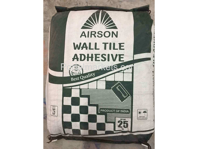 Offer Distributership for Tile Adhesive in Rajkot Airson Chemical - 1/1