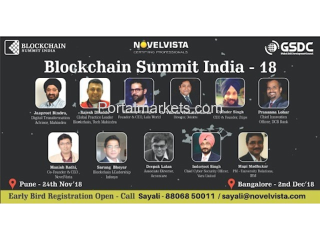 Blockchaain Summit India 2018 Bangalore - 1/1