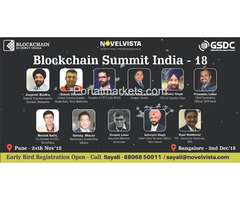 Blockchaain Summit India 2018 Bangalore