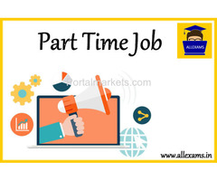 Online Part Time Work Opportunity With Online Examination Portal