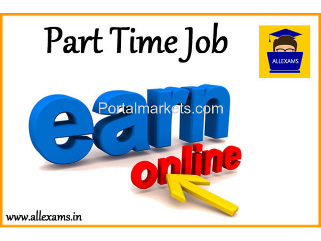 Part Time Job In Online Examination Portal - All Exams - 1/2