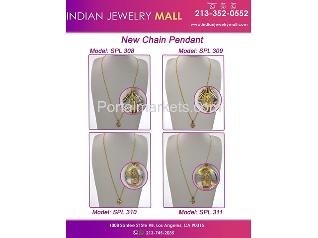 Oro Laminado Indian Jewelry Mall - 1/2