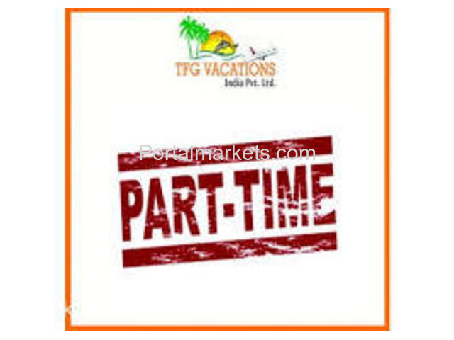 Part Time Work TFG-A leading Tour & Travel Company - 1/1