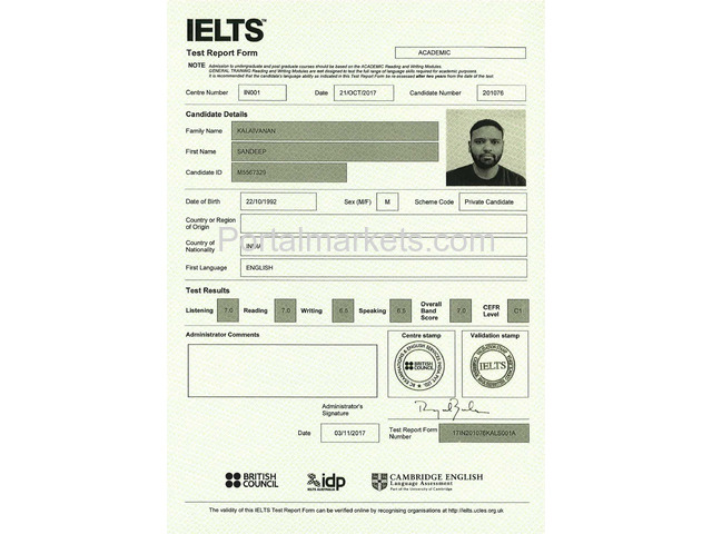 Buy original IELTS,TOEFL,PMP certificates((Whatsapp: +1(207)352-0035)) - 2/3