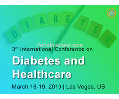 3rd International Conference on Diabetes and Healthcare