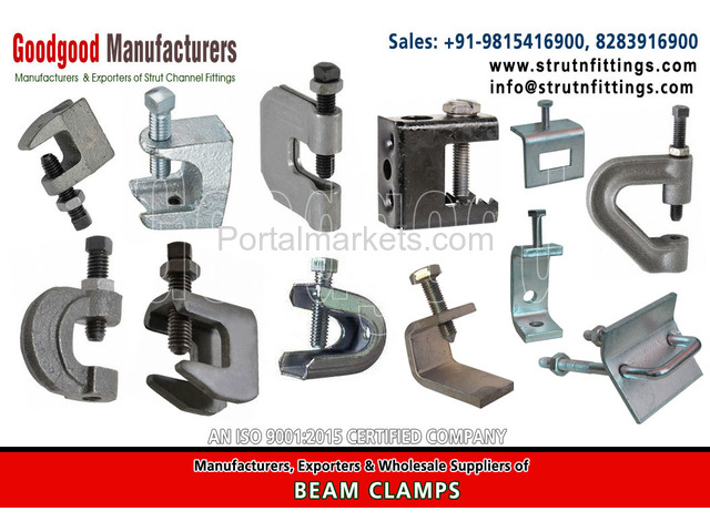 Solar Mounting Systems Fittings, spring channel nuts - 1/4