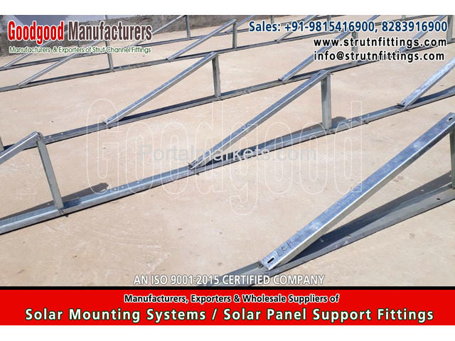 Solar Mounting Systems Fittings, spring channel nuts - 2/4