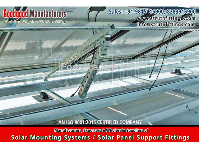 Solar Mounting Systems Fittings, spring channel nuts - 3/4