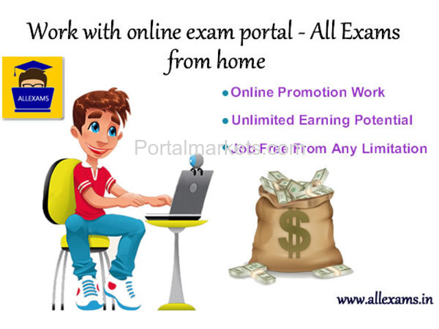 Work With Online Exam Portal - All Exams From Home - 4/4