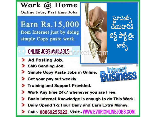 COPY-PAST JOBS AVAILABLE HOME BASED WORKS - 4/4