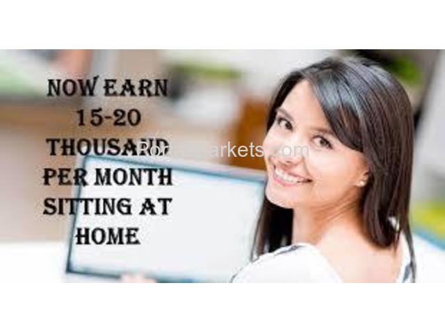 Earn Rs.2000/- daily from home - Govt Registered Job - 9043380999 - 3/4