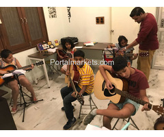 Guitar Classes in Secunderabad for adults and children by The Art Academy