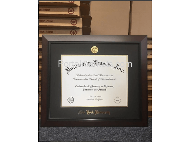 Display Your Academic Achievement with a Custom Diploma Frame - 3/4