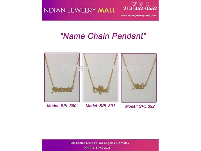Name chain Pendants - 2/2