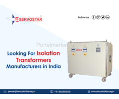 Looking for Best Isolation Transformers Manufacturers in India