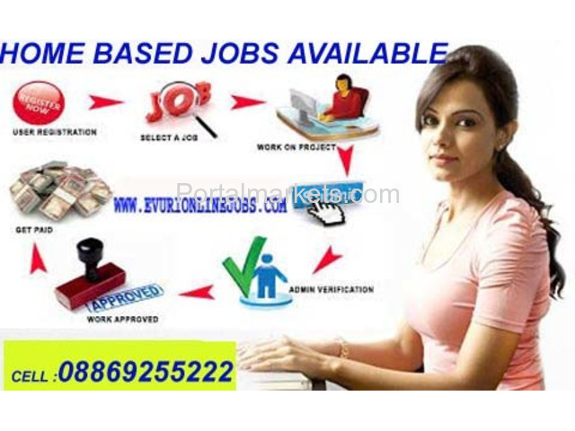 Online Copy Paste Jobs - Work from Home at your free time - 1/1