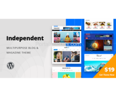 Independent – Multipurpose Blog Magazine WordPress Theme