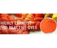 Need HE Dyes (Highly Exhaust Reactive Dyes) in Ahmedabad India