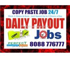 Blr Data Copy paste work  | 8088776777 | Part time Data entry | 1214 |