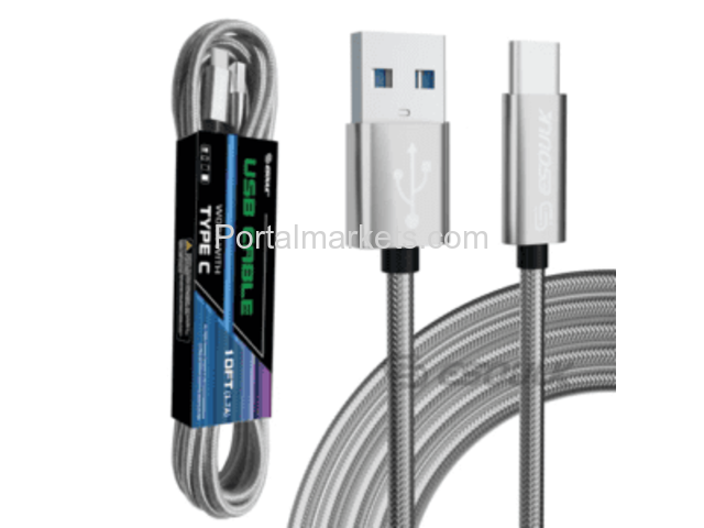 1.7A Type-C 10Ft USB Cable for Android - Shop Simplio - 1/1