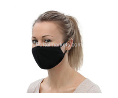 Black Face Mask for Men and Women - Shop Now!