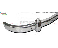 Saab 93 (1956-1959) bumpers by stainless steel