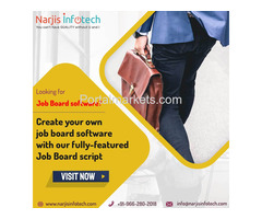 Create your own Job Portal software with Narjis Infotech