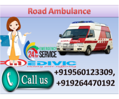 Get Portable Medical Equipments with Medivic Road  Ambulance Service in Ranchi
