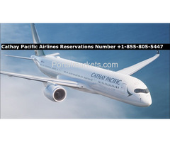 Cathay Pacific Flights Reservation