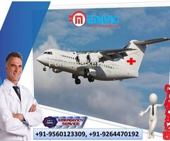Hire Emergency Air Ambulance Services in Guwahati at Cheapest Cost