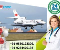 Get High-Class ICU Care by Medivic Air Ambulance Services in Jamshedpur