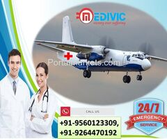Utilize Top-Level ICU Care by Medivic Air Ambulance Services in Raipur