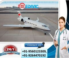 Avail 24 Hrs Emergency ICU Air Ambulance Services in Ranchi by Medivic