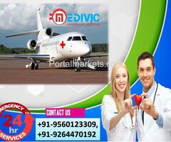 Take Remarkable Solution by Medivic Air Ambulance Services in Siliguri
