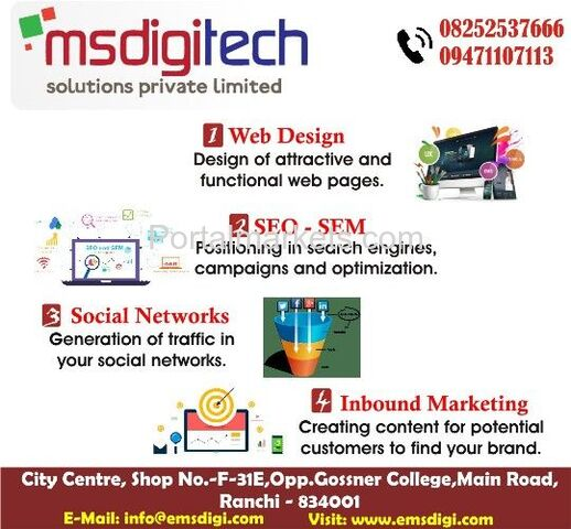 Search engine optimization (SEO) by Msdigi Tech Solutions Pvt.Ltd. - 1