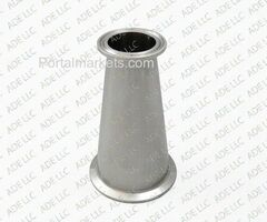 304, 316 Stainless Steel Tri Clamp Sanitary Reducers from TriClamp.co