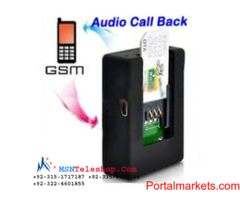 Spy GSM Sim Device Price in Lahore call 03224601855