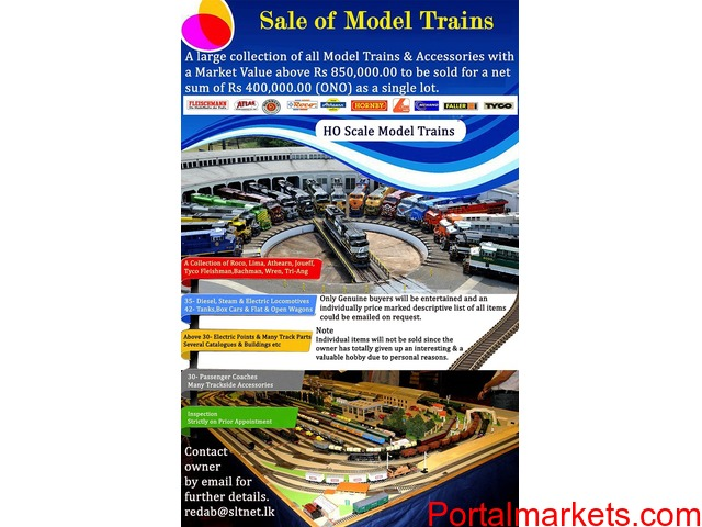 Model Trains & Accessories (HO-Scale) - 1/2