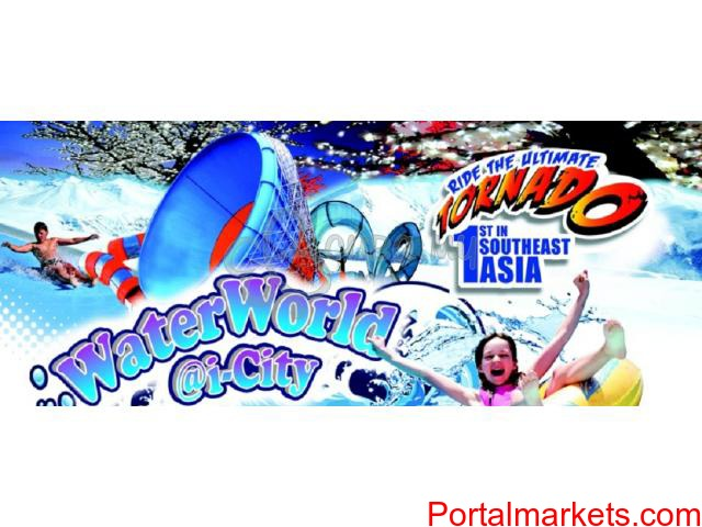 i-City Waterworld Entrance plus Lunch at Best Western Hotel (For first 50 pax only) - 1/2