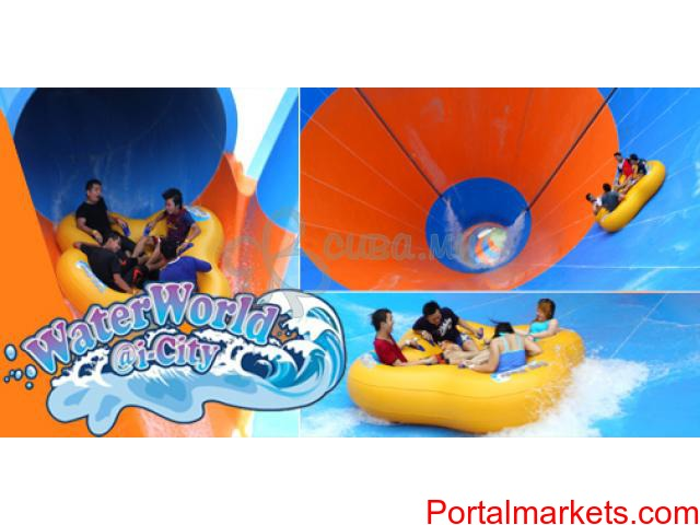 i-City Waterworld Entrance plus Lunch at Best Western Hotel (For first 50 pax only) - 2/2