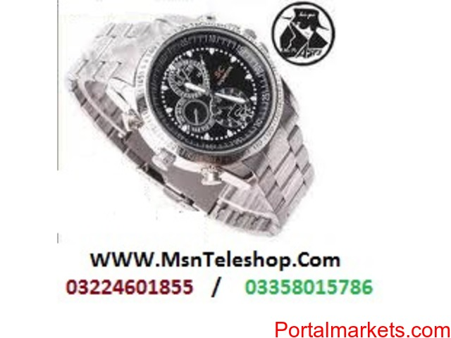 Spy Wrist Camera Watch in Faisalabad call 03224601855 - 3/3