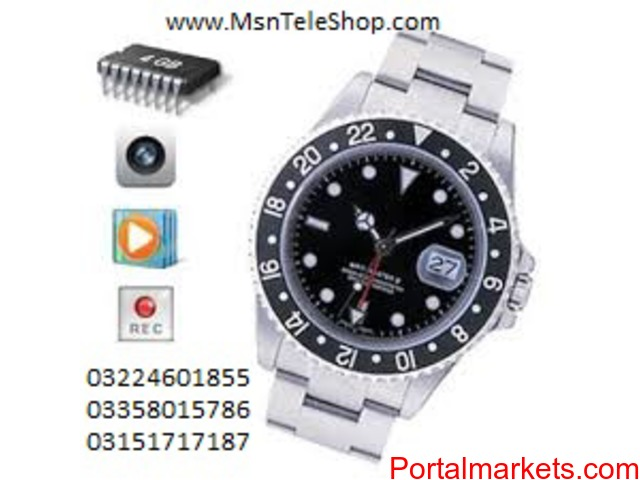 Spy Wrist Camera Watch in Karachi call 03224601855 - 3/3