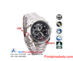 Spy Camera Watch Price in Quetta call 03224601855
